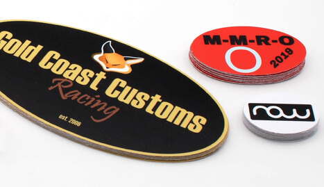 Oval Stickers of exceptional quality