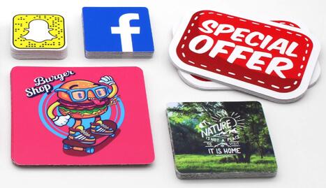 Stickeryeti: Personalized Rounded Corners Stickers and custom stickers